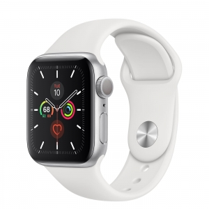 Apple Watch 5 - 44mm GPS Space Gray Aluminum/ Black Sport Band