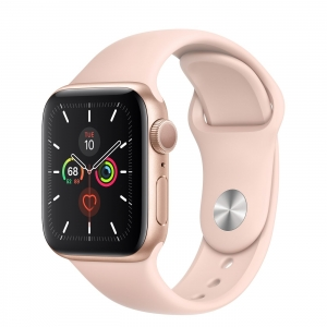 Apple Watch 5 - 44mm Space Gray Aluminum/ Black Sport Band (GPS+Cellular) mới